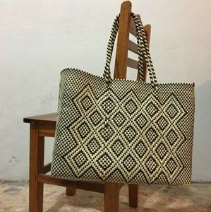Handbags - Authentic Large Handmade Tote Bag - Made in MX